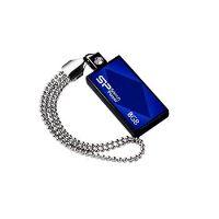 USB flash disk Silicon Power Drive Touch 810, 8GB, USB 2.0, modrý