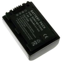 Baterie Extreme Energy typ Sony NP FH50, Li-Ion 1050 mAh, 7,4 V