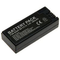 Baterie Extreme Energy typ Sony NP-FC10, Li-Ion 700 mAh, šedá