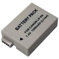 Baterie Extreme Energy typ Canon LP-E8, Li-Ion 1200 mAh