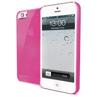 TPU pouzdro CELLY Gelskin pro Apple iPhone 5/5S, růžové