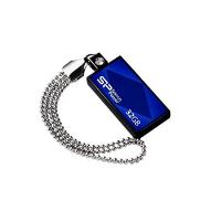 USB flash disk Silicon Power Drive Touch 810, 32GB, USB 2.0, modrý