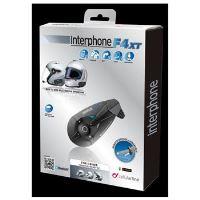 Bluetooth handsfree pro uzavřené a otevřené přilby CellularLine Interphone F4XT