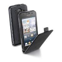 Pouzdro CellularLine Flap Essential pro Huawei Ascend G510, PU kůže, černé