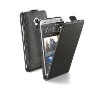 Pouzdro CellularLine Flap Essential pro HTC One Max, PU kůže, černé