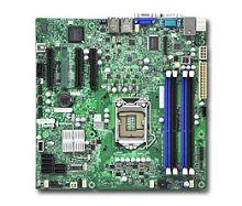X9SCL-F iC202,S1155,2PCI-E8g2,-E4v8,2GbE,4DDR3,6sATA,mATX,IPMI,bulk