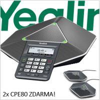 "Yealink CP860 IP audiok. tel.,PoE,3"" 192x64 LCD,4 prog. tl."