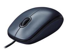 myš Logitech M100 optická, černá, USB