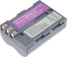 Baterie T6 power Nikon EN-EL3e, 1500mAh, šedá
