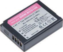 Baterie T6 power Panasonic DMW-BCG10E, 860mAh, černá