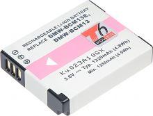 Baterie T6 power Panasonic DMW-BCM13, 1320mAh, černá