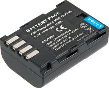 Baterie T6 power Panasonic DMW-BLF19, 1700mAh, černá