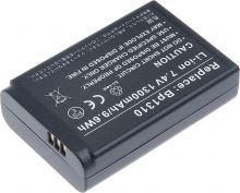 Baterie T6 power Samsung BP1310, 1300mAh, černá