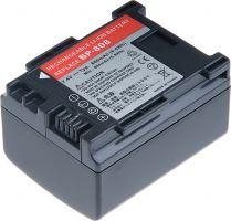 Baterie T6 power Canon BP-808, BP-809, 860mAh, černá