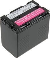Baterie T6 power Panasonic CGR-D320, VW-VBD25, CGP-D28A/1B, 3600mAh, šedá