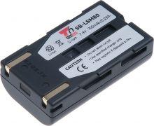 Baterie T6 power Samsung SB-LSM80, 700mAh, šedá