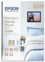 EPSON Premium Glossy Photo Paper A4, 255g/m2, 15 listů