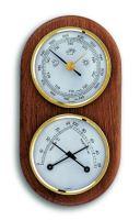 Meteostanice analogová na dřevěné podložce TFA 20.1051