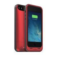 mophie Juice Pack Air - pouzdro s baterií pro iPhone SE/5S/5, červené