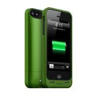 mophieJuice Pack Helium - pouzdro s baterií pro iPhone SE/5S/5, zelené
