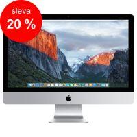 """APPLE iMac 27"""" Retina 5K quad-core i5 3.3GHz/8GB/2TB Fusion Drive/AMD Radeon R9 M395 2GB/ OS X - Magic Keyboard CZ"""