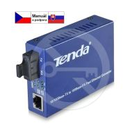 Tenda TER860S Single-mode Fiber Converter 10/100Ba