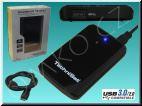 Externí pevný disk TechniSat StreamStore 24, 1TB, USB 3.0, černý