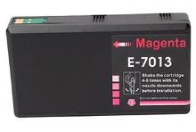 PRINTWELL T7013 kompatibilní inkoustová kazeta, barva náplně purpurová, 3400 stran