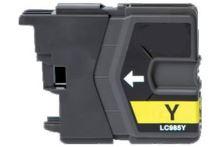 PRINTWELL LC985Y kompatibilní inkoustová kazeta, barva náplně žlutá, 260 stran