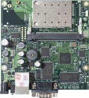MikroTik RouterBOARD RB411AR, 1x LAN, 1x miniPCI, 2.4GHz bezdrátový modul, L4 licence