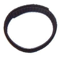 Solarix suchý zip oboustranný černý, šířka 20mm, balení 25m