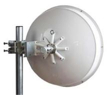 Jirous JRC-29 DuplEX Precision (SMA) • Parabolická směrová anténa 29dBi s 2x SMA konektorem