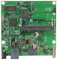 MikroTik RouterBOARD RB411GL, 680MHz Atheros CPU, 32MB RAM, 1x Gbit LAN, 1 miniPCI, RouterOS L4