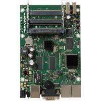 MikroTik RouterBoard RB435G Level 5, 3x Gb LAN, 5x miniPCI, 2x USB, 256 MB, Atheros 680 MHz