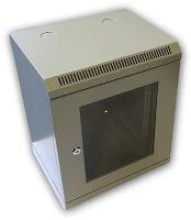 "DATACOM 10"" rozvaděč    9U/280 mm (sklo) šedý"
