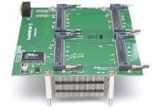 MikroTik RouterBOARD RB604 Daughterboard 4x miniPCI slot