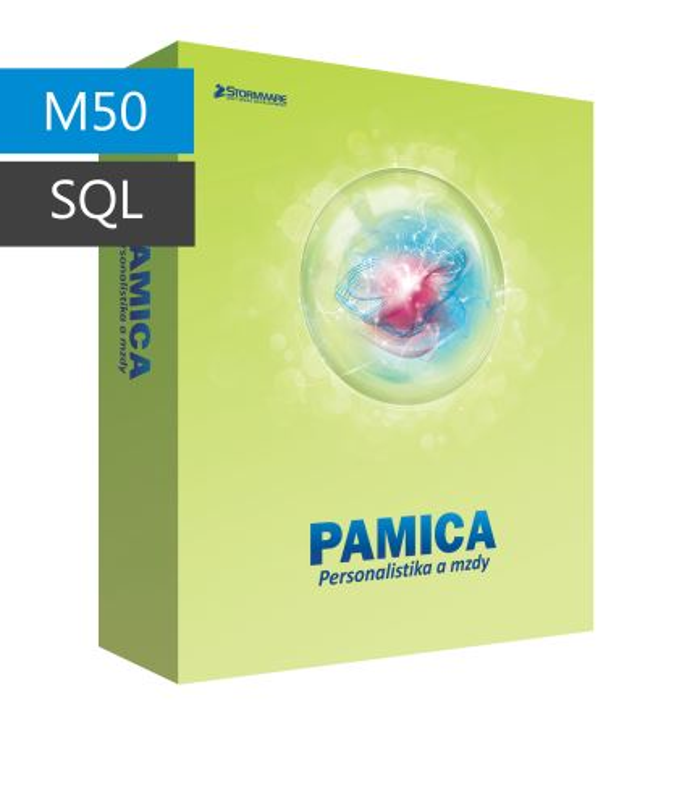 PAMICA 2017 M50 - základní licence pro jeden počítač