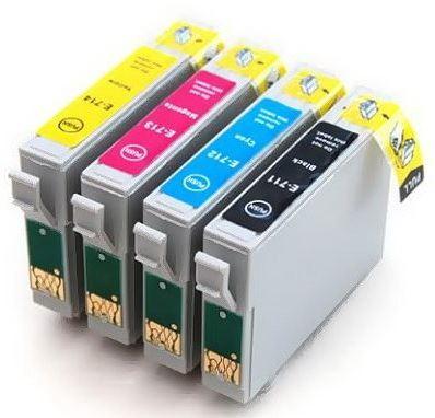 PRINTWELL sada cartridge Epson T0715, kompatibilní
