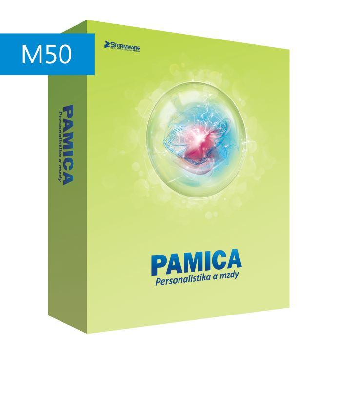 PAMICA 2017 M50 MLP - nesíťová přídavná licence pro další počítač