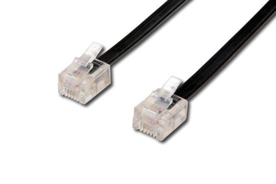Kabel telefonní s koncovkami, 2m