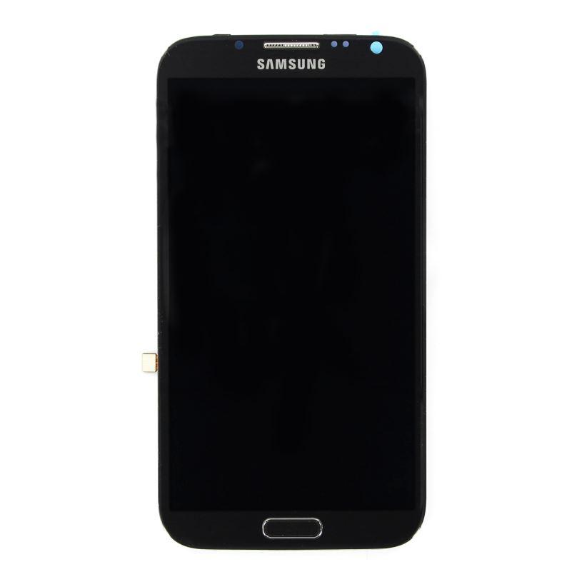 LCD display + Dotyk Samsung N7100 Note2 Grey