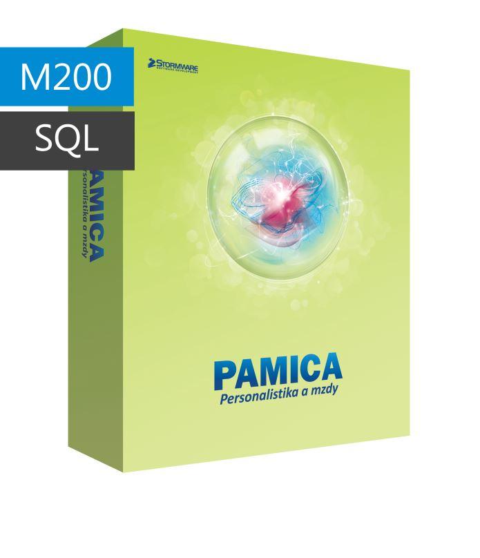 PAMICA 2017 SQL M200 CAL - síťová přídavná licence pro 1 počítač