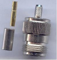 Konektor N-Female pro RG-155/ RF-240