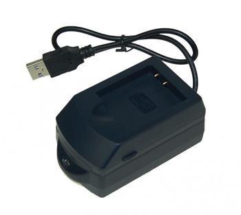 Nabíječka Avacom USB AVEPU 152 pro Li-ion akumulátor Olympus Li-50B,Pentax D-Li92, Sony NP-BK1 - neoriginální