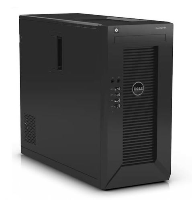 DELL PowerEdge T20/ Xeon Quad Core E3-1225 v3/ 4GB/ 2x 1TB SATA RAID 1/ bez DVD/ GLAN/ 3YNBD on-site
