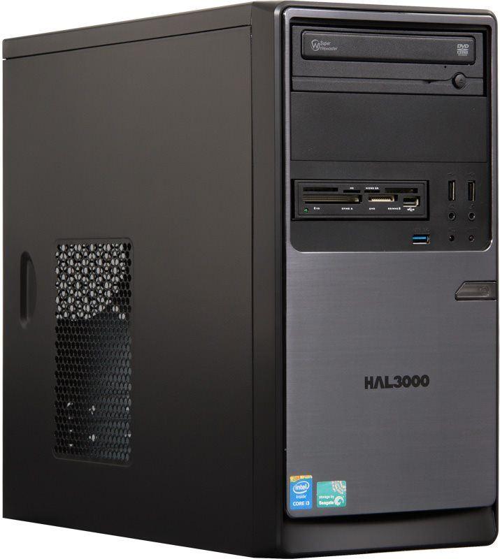 HAL3000 ProWork SSD W8P/ Intel i3-4170/ 4GB/ 120GB SSD/ DVD/ CR/ W8.1 Pro