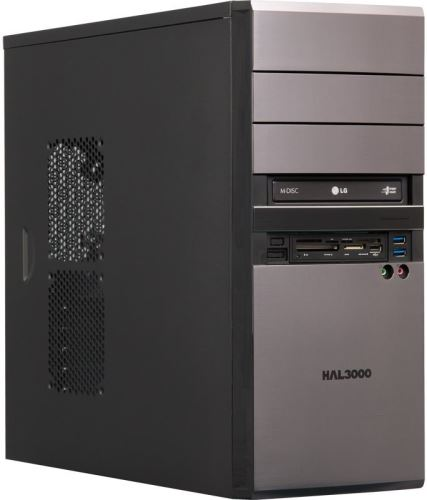 Počítač HAL3000 EliteWork W10/ Intel i5-4460/ 8GB/ 1TB/ DVD/ CR/ W10