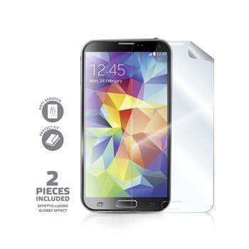 Ochranná fólie displeje CELLY Screen Protector pro Samsung Galaxy S5, 2ks, lesklá