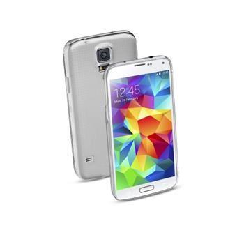 Zadní kryt CellularLine Invisible pro Samsung Galaxy S5 / S5 Neo, průhledný
