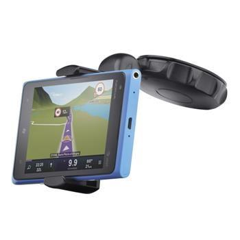 Univerzální držák s přísavkou CellularLine Crab Disk pro mobilní telefony a smartphony, flexibilní rameno